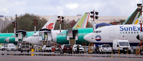 Hinh anh Boeing 737 Max chat dong trong cac kho bai hinh anh 5