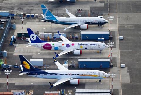 Hinh anh Boeing 737 Max chat dong trong cac kho bai hinh anh 4