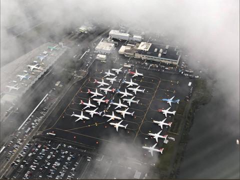 Hinh anh Boeing 737 Max chat dong trong cac kho bai hinh anh 6