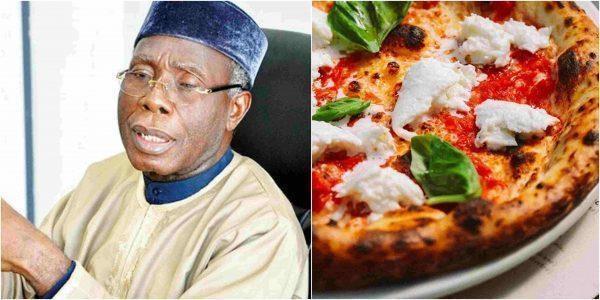 Dan nha giau Nigeria dat mua pizza o Anh, cho ve bang may bay hinh anh 1