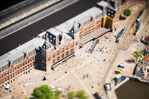 Amsterdam nhu 'thanh pho mo hinh' duoi ong kinh tilt-shift hinh anh 10