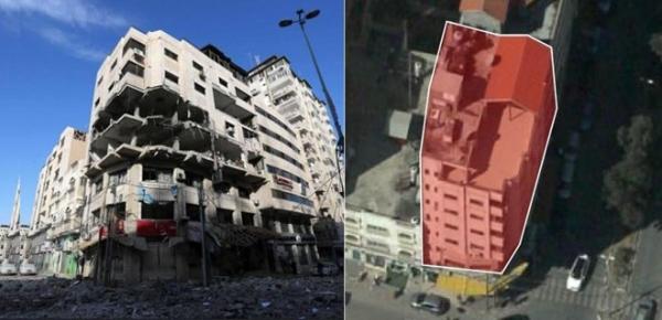 Israel nem bom tieu diet ca hang o cua hacker Hamas hinh anh 1
