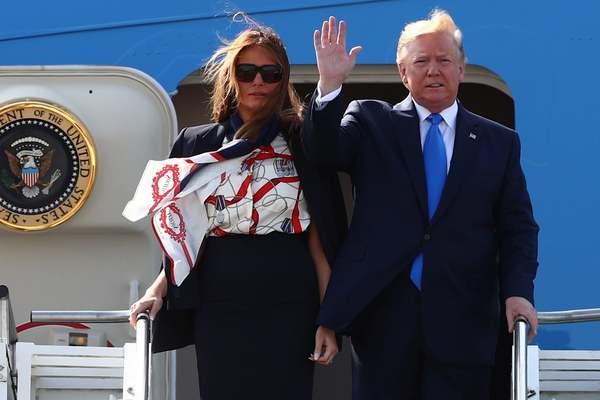 Ong Trump chi trich thi truong London ngay khi ha canh toi Anh hinh anh 1